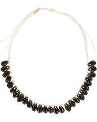 Isabel Marant - Black Seashell Necklace - Lyst