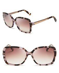 Kate Spade   Multicolor Darilynn Oversized Sunglasses, 58mm   Lyst