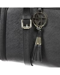 Giorgio Armani   Black Handbag Bag Ecosaffiano 2 Handles   Lyst