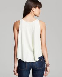 Wildfox - Yellow Tank The Perfect Currency Sand Dollar - Lyst