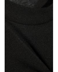 Étoile Isabel Marant - Black Almon Slub Jersey T-Shirt - Lyst
