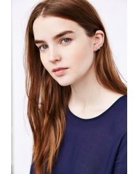Urban Outfitters - Metallic Lily Ear Climber Earring - Lyst
