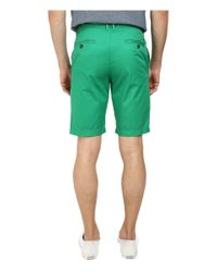 Original Penguin - Green Global Look Basic Shorts for Men - Lyst