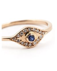 Ileana Makri | Metallic 'wisdom Eye' Ring | Lyst