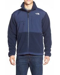 The North Face | Blue 'denali' Recycled Polartec 300 Fleece Jacket for Men | Lyst