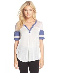 Honeydew Intimates | Blue 'game On' Tee | Lyst