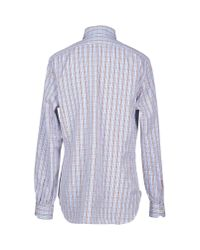Kiton - Blue Shirt for Men - Lyst