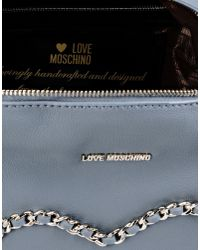 Love Moschino - Gray Backpack - Lyst