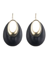 Alexis Bittar - Black Orbital Dangling Hoop Wire Earring You Might Also Like - Lyst