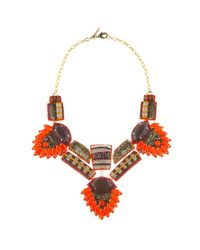 Deepa Gurnani | Orange Queen Amidala Necklace | Lyst