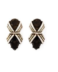 Shaun Leane | Metallic 'bound' Earrings | Lyst