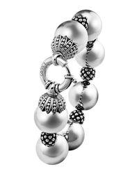 Lagos - Metallic Bold Caviar Wow Bracelet - Lyst