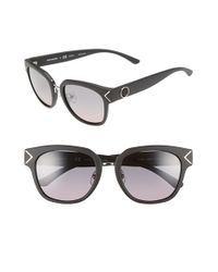 Tory Burch - Black 53mm Polarized Sunglasses - Lyst