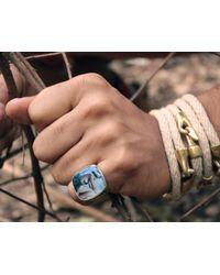 Lulu Frost - Metallic George Frost G. Frost Usn Sweetheart Ring for Men - Lyst