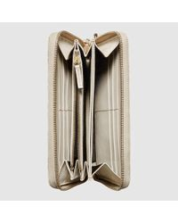 Gucci - Natural Bree Ssima Zip Around Wallet - Lyst
