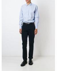Etro | Blue Striped Shirt for Men | Lyst