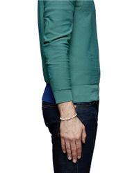 Luis Morais - White Skull Charm Ivory Bead Bracelet for Men - Lyst