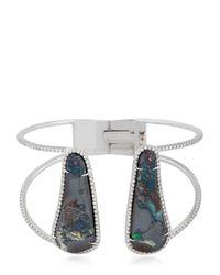 Nina Runsdorf | White Opal Bracelet | Lyst