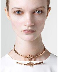 Bjorg | Metallic Necklace | Lyst