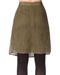 By Malene Birger - Green Mid-length Skirt - Lyst