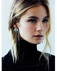 Free People - Metallic Dannijo Womens Nikius Cocktail Earring - Lyst