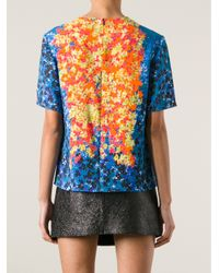 Peter Pilotto - Multicolor Abstract Print Top - Lyst