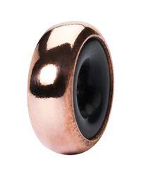 Trollbeads | Metallic Copper Stopper Charm | Lyst