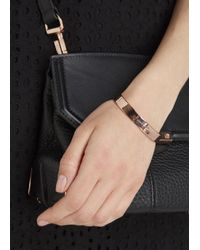Marc By Marc Jacobs - Metallic Rose Gold Tone Screw Cuff - Lyst