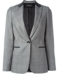 Paul Smith Black Label | Gray One-button Blazer | Lyst