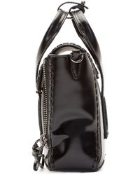3.1 Phillip Lim | Black Polished Mini Pashli Satchel | Lyst