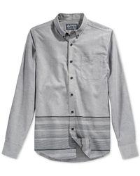 American Rag | Black Hom Striped Shirt for Men | Lyst