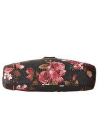 Dooney & Bourke - Multicolor Carbbage Rose Letter Carrier - Lyst