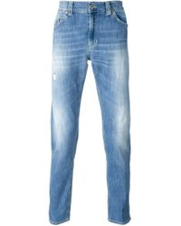 Dondup - Blue 'Ramones' Jeans for Men - Lyst