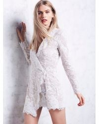 Free People | White Scf Womens Fillmore Dress | Lyst