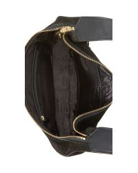 Elizabeth and James - Black Zoe Fringe Hobo Bag - Lyst