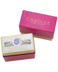 Carolee | Blue Silver-tone Sky's The Limit Bracelet | Lyst