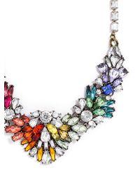 BaubleBar - Multicolor Rainbow Brite Bib - Lyst