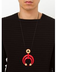 Ambush | Red Pendant Necklace for Men | Lyst