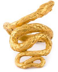 Alighieri | Metallic 'la Medusa' Ring | Lyst