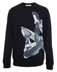 Givenchy - Black Basketball Sweatshirt for Men - Lyst