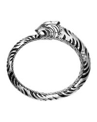 John Hardy | Metallic Palu Macan Tiger Cuff Bracelet | Lyst