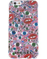 DIESEL | Multicolor Eye Print Iphone 6 Case for Men | Lyst