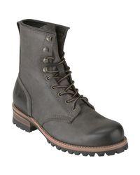 Frye - Orange Mens Logger Leather Boots for Men - Lyst