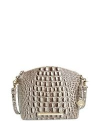 Brahmin | Gray 'mini Duxbury' Crossbody Bag | Lyst