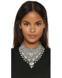 Samantha Wills | Metallic World From Here Collar Necklace - Burnished Silver | Lyst