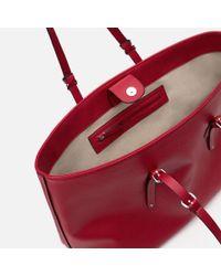 Zara | Red Plain Tote | Lyst