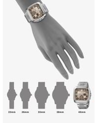 Gucci | Metallic Coupé Collection Watch/brown Dial | Lyst