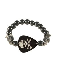 Electric Picks | Black 'alkatraz' Bracelet | Lyst