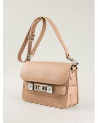 Proenza Schouler | Brown PS11 Medium Leather Cross-Body Bag | Lyst