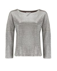 Almost Famous | Metallic Foil Top | Lyst